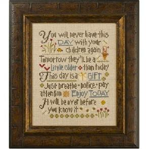 Lizzie Kate Cross Stitch Chart - Let Them Be Small
