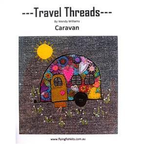 Wendy Williams Travel Threads Pattern - Caravan