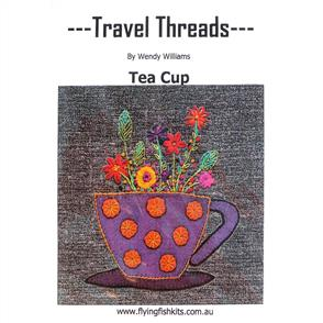 Wendy Williams Travel Threads Pattern - Tea Cup