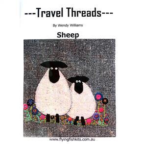Wendy Williams Travel Threads Pattern - Sheep