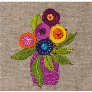 Wendy Williams  Travel Threads Pattern - Little Vase