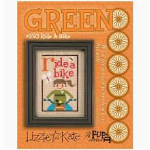 Lizzie Kate Cross Stitch Chart - Ride a Bike