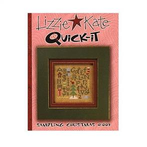 Lizzie Kate Cross Stitch Chart - Sampling Christmas