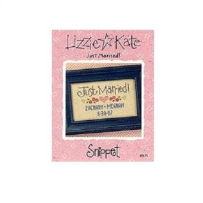 Lizzie Kate Cross Stitch Chart - Just Married!