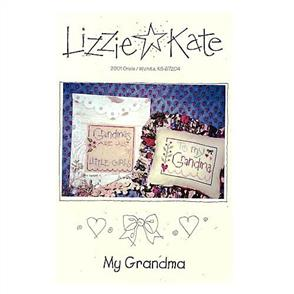 Lizzie Kate Cross Stitch Chart - My Grandma