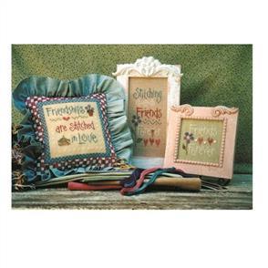 Lizzie Kate  Cross Stitch Chart - Stitching Friends