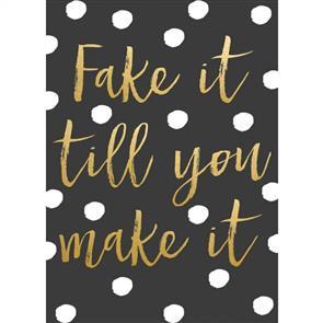 MISC Fake It Til You Make It Notebook