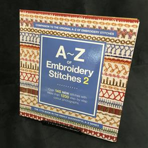 A-Z Books  A-Z of Embroidery Stitches 2