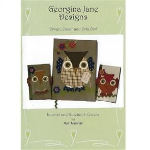 Georgina Jane Designs Olwyn, Oscar and Orla Owl