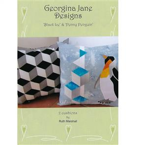 Georgina Jane Designs Black Ice & Penny Penguin