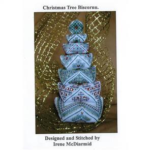 Irene McDiarmid  Christmas Tree Biscornu Pattern