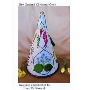 Irene McDiarmid  New Zealand Christmas Cone