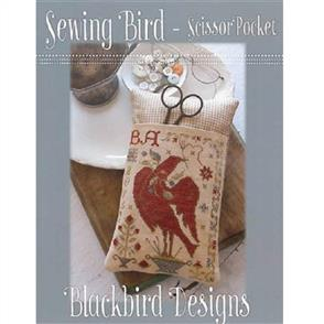 Blackbird Designs  Sewing Bird Scissor Pocket