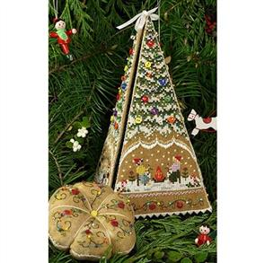 The Victoria Sampler Gingerbread Tree Etui