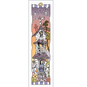 Michael Powell  Cross Stitch Bookmark - White House Sunset