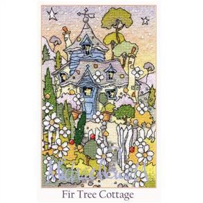 Michael Powell  Cross Stitch Kit - Fir Tree Cottage