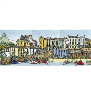Michael Powell  Cross Stitch Kit - Harbour Town (Tenby)