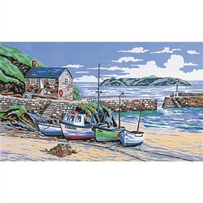 Anchor Needlepoint Tapestry Kit - Mullion Cove, Cornwall