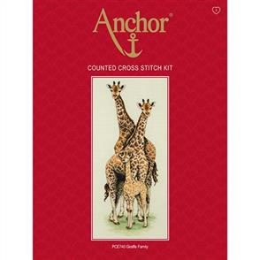 Anchor  Essential Kits: Cross Stitch  Giraffe Family