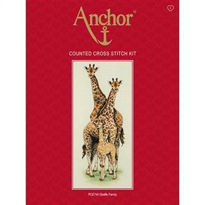 Anchor  Essential Kits: Cross Stitch  Giraffe Family