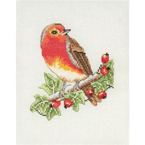 Anchor  Starter Kits: Cross Stitch Red Robin