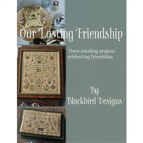 Blackbird Designs Cross-stitch Chart Booklet - Our Lasting Friendship