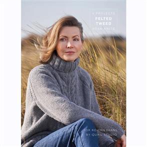 Rowan  Books - Felted Tweed Aran Knits