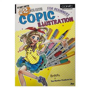 Copic Book- Illustration for Beginners