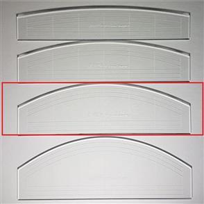 "Westalee  - Curve & Straight Ruler 3 - 6"" LS"