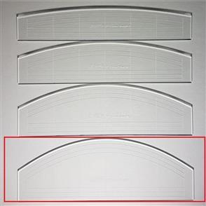 "Westalee  - Curve & Straight Ruler 4 - 6"" LS"