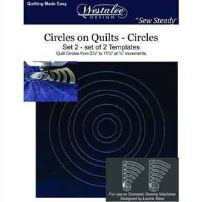 Westalee  - Circles on Quilts - Set 2 - LS