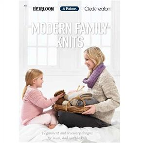 Patons Modern Family Knits Pattern Book 363