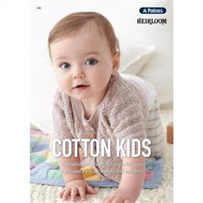 Patons Heirloom Book 366 - Cotton Kids