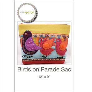Sue Spargo Birds on Parade Sac
