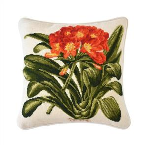 Elizabeth Bradley  Tapestry Kit - Clivia (Winter White background)