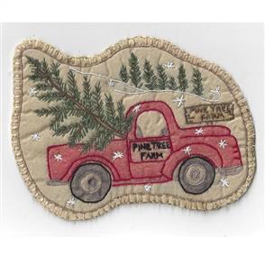 Chickadee Hollow Vintage Ornament #22 - Santas Truck