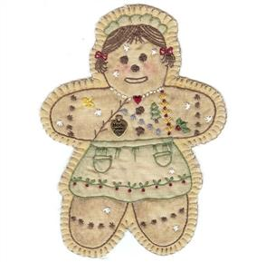Chickadee Hollow  Vintage Ornament  #16 - Gingerbread Girl