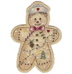 Chickadee Hollow  Vintage Ornament  16 - Gingerbread Boy
