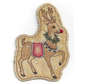 Chickadee Hollow  Vintage Ornament  21 - Santa's Deer