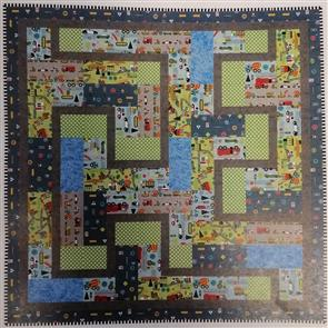 Gourmet Quilter  - Let's Get Going! - Quilting Pattern