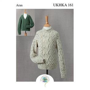 UKHKA  Pattern 161 - Country Sweater