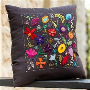 Wendy Williams Pattern - Scattered Flowers Cushion