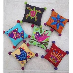 Wendy Williams  Pattern - Woolly Pincushions