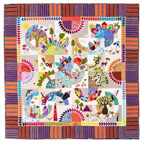 Wendy Williams Pattern - Over the Hill Quilt