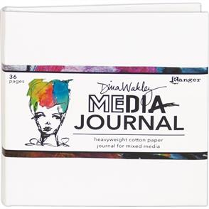 """Ranger Ink Dina Wakley Media White Journal 6""""X6"""""""