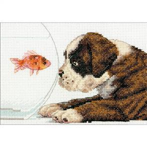 Dimensions  Cross Stitch Kit - Dog Bowl