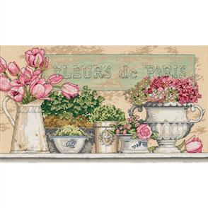 Dimensions  Cross Stitch Kit - Flowers of Paris