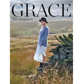 Rowan  Book - GRACE by Kim Hargreaves