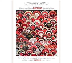 Bernina  Publications & Guides - Glamorous Clams BERNINA - With Templates