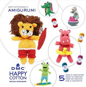 DMC Happy Chenille Amigurumi Book 10 At The Beach